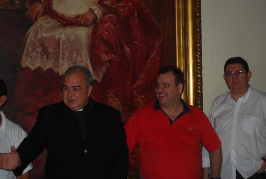 Cardeal recebe Párocos Claretianos em sua residência - 12.03.2014