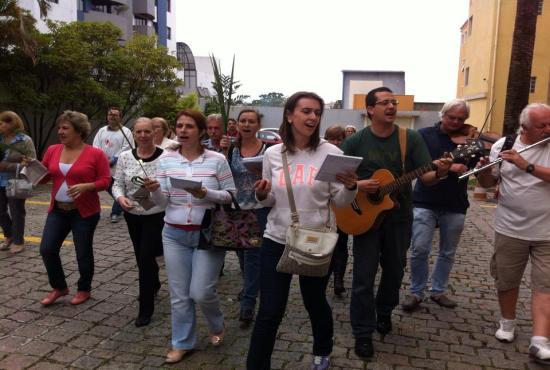 Domingo de Ramos em Curitiba - 13.04.2014