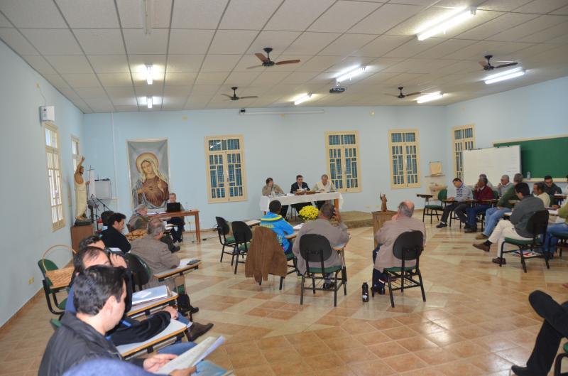 Reeleição do Superior Provincial e Profissão de Fé