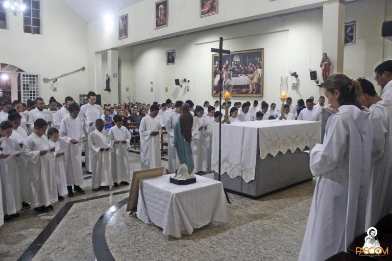 Consagração de Coroinhas e Ancilas em Maceió - 20.08.2017