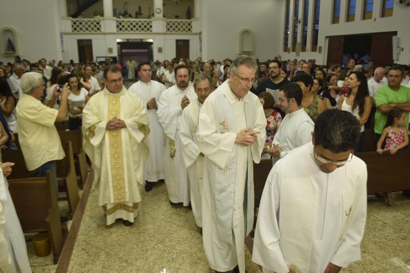 Missa Solene marca abertura do ano jubilar dos 120 anos de presen�a claretiana no Brasil