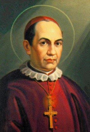 Pintura de Missori, cujo original encontra-se na Cúria Geral de Roma.