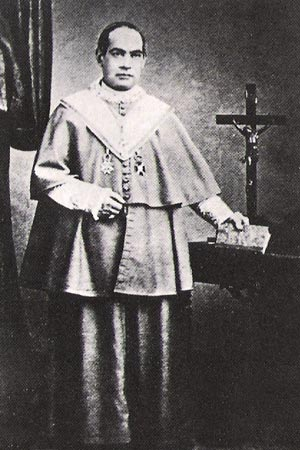 Fotografia do Santo em Madri em 1860. J. Laurent, fot�grafo da Fam�lia Real