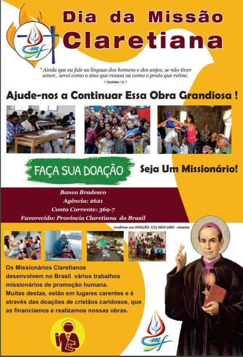 Dia da Missão Claretiana