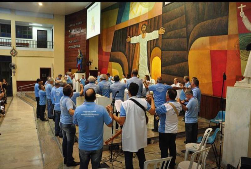 Missa do Terço dos Homens em Taguatinga - DF