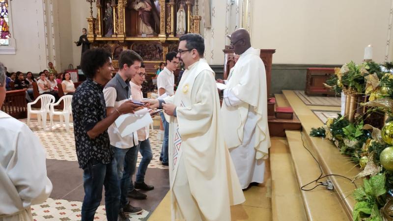 Primeira Profissão Religiosa na Colômbia