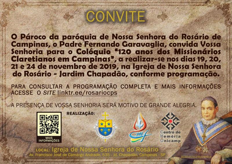 120 anos dos Missionários Claretianos em Campinas