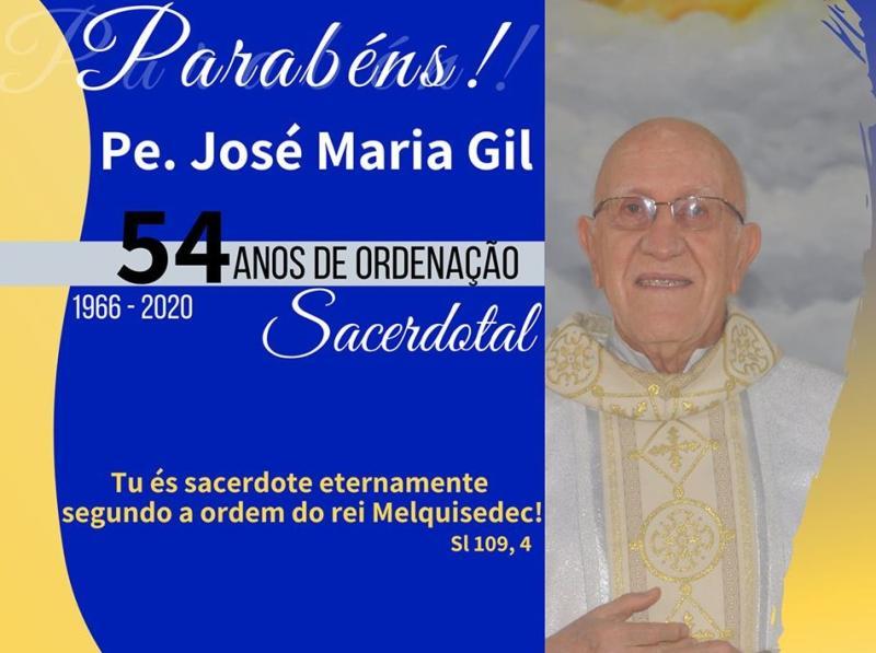 Aniversário Sacerdotal do P. José Maria GIl