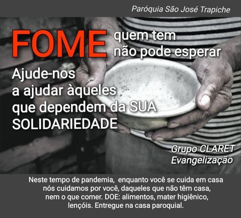 Corações que cuidam dos Pobres em Maceió