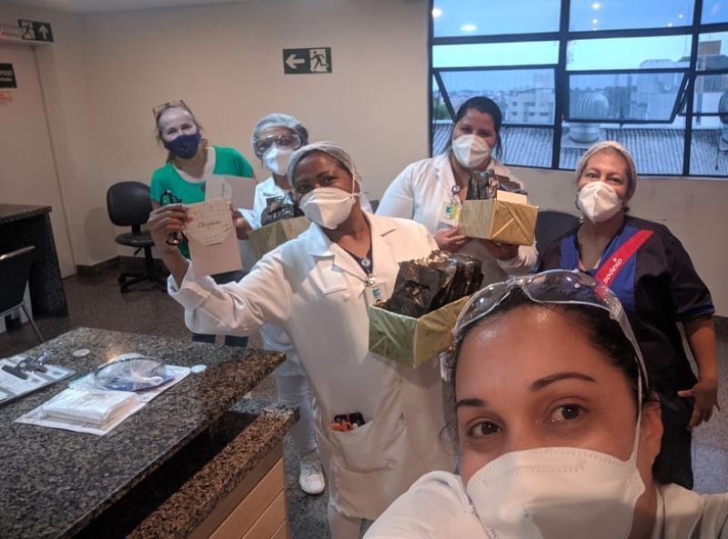 Homenagem aos Enfermeiros em Curitiba