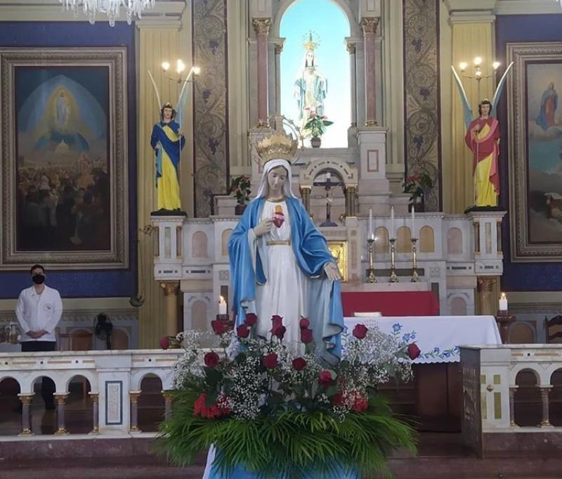 Coroação de Nossa Senhora em Goiânia