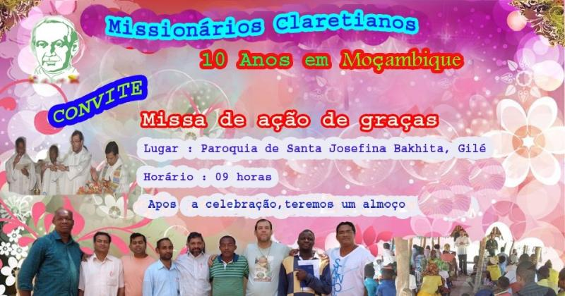 Dez anos de Miss�o em Mo�ambique