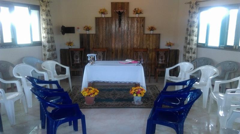 Inaugura��o de Capela de nossa Comunidade Religiosa em Nampula (Mo�ambique)
