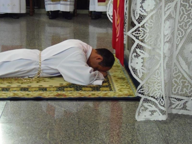 Diaconato do Seminarista Cristiano Robles, cmf