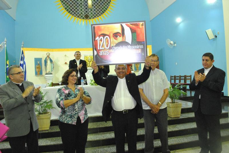 Claretianos do Brasil s�o homenageados com o Diploma Honra ao M�rito pelos 120 anos de presen�a no Brasil