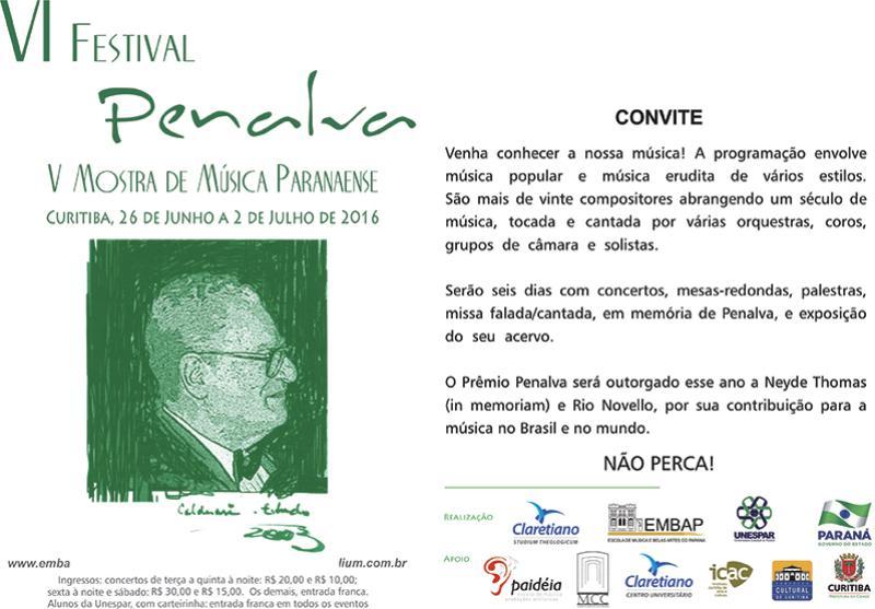 VI Festival Padre Penalva